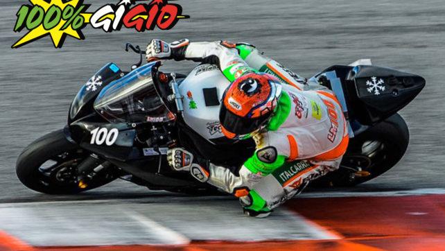 Primo test per Morciano sulla Kawasaki del team Tecnobike