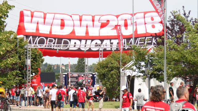 Photogallery WDW2018 – Paddock