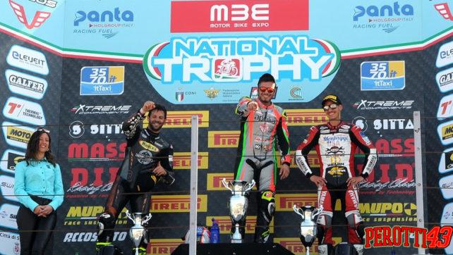 Fabrizio Perotti conquista il podio nel 1^ Round del National 2019