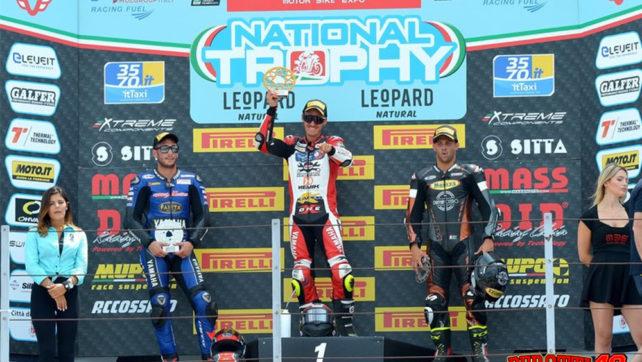 Fabrizio Perotti vince a Misano ed accorcia le distanze in campionato