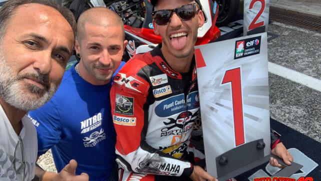 Fabrizio Perotti rinnova con Motozoo e sbarcano nell'International Trophy 2020